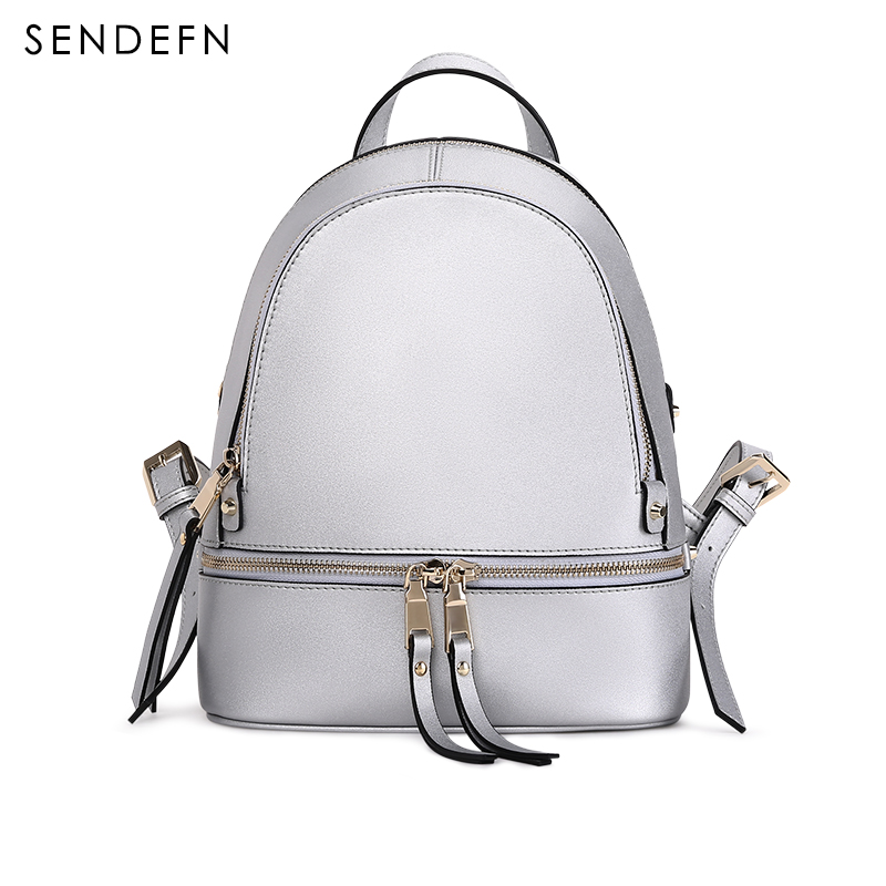 2018 New  Backpack Split Leather Women Backpack Fashion School Backpack luxury Women Shoulder Bag Youth Shoulder Bag Women fashion women backpack new youth leather