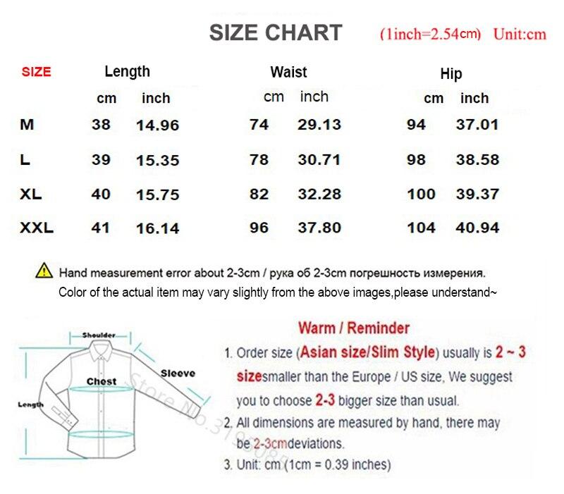 Summer Shorts Men's Short Male- (2)