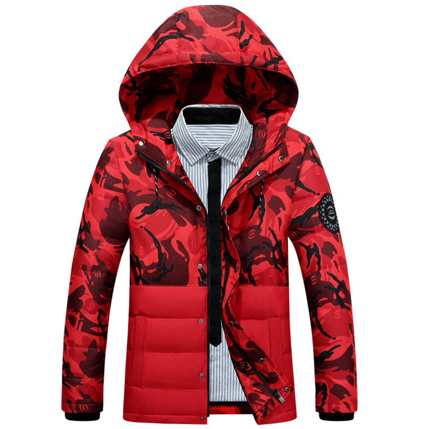 Free shipping Winter Jacket Men 2017 New Parka Mens Clothing Zipper Cotton Padded Hooded Thick  Jackets Coat Hooded  WN 80 free shipping the new winter 2016 men down jacket brand men s 90% feather coat more men with thick cotton padded jacket m xxxl