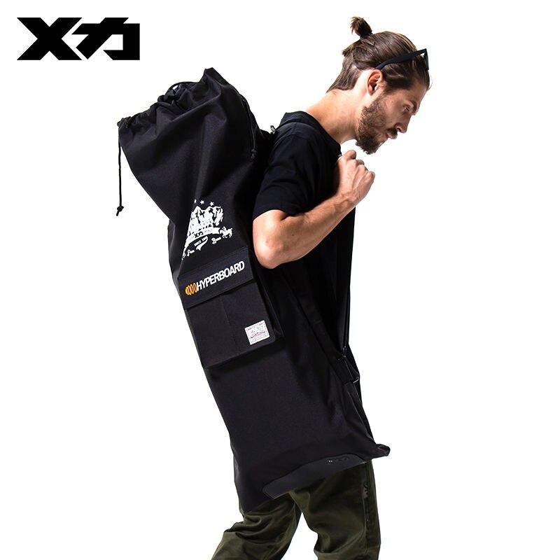 MACKAR Electric Skateboard Bag Black 900D Oxford Carry Bag Pack Drawstring  Skate Backpack Fashion Mochila Skateboard Bolsas-in Backpacks from Luggage    Bags ... 10b64332bf7