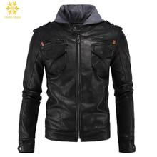 Fashion Motorcycle Jacket Men Autumn Winter Mens Jackets Casual Leather Coats Famous Calipso Ogygia Plus Size 3XL 4XL COML82