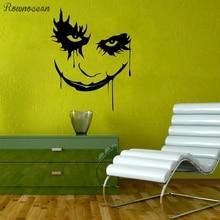Joker Wall Decal Comics Decorative Sticker Batmans Enemy Anti Hero Mural Action Film Fans Posters Graphics Teens SP13