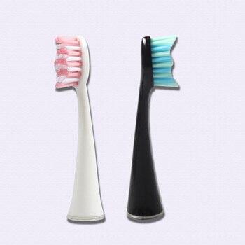 4 ชิ้น/แพ็ค SEAGO เปลี่ยนหัวแปรงสำหรับ SG986/SG987 ที่ดีที่สุดไฟฟ้าแปรงสีฟันเปลี่ยนหัวแปรงสีฟันขนแปรง...