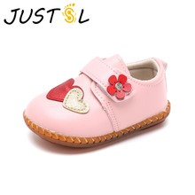 2018 autumn winter new baby girls toddler shoes infant baby small shoes sweet cute princess shoes for kids(China)