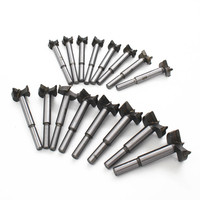16pcs Set 15 35mm Core Drill Bits Professional Forstner Woodworking Hole Saw Wood Cutter For Rotary
