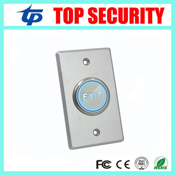 Good Quality NO NC COM Door Exit Button Exit Switch For Door Access Control System Door Push Exit Door Release Button Switch lpsecurity stainless steel door access control led backlit led illuminated push button door lock release exit button switch