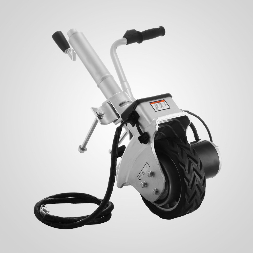350W 12V Electric Power Move Tool Caravan Trailer Boat Motorised Jockey Wheels