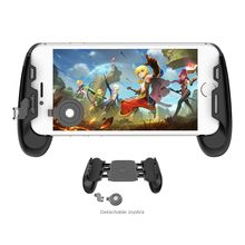 Gamesir F1 Joystick Grip Case for Android & iOS Phone, Tencent PUBG Controller Holder Stand Joypad, Analog