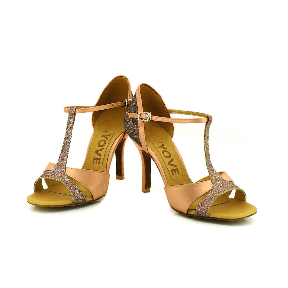 ФОТО YOVE Customizable Dance Shoe Women's Latin/ Salsa Dance Shoe 3.5