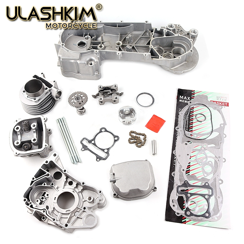 GY6 <font><b>125cc</b></font> 150cc upgrade to GY6 180cc 61mm Big Bore Engine Kit for 150cc GY6 and Polaris RZR 170cc <font><b>motors</b></font> image