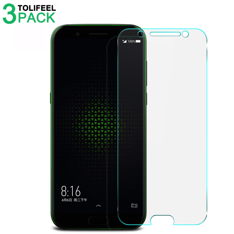 3Pcs Tempered Glass For Xiaomi Black Shark Screen Protector 2.5D 9H Protective Film For Xiaomi Blackshark On Glass