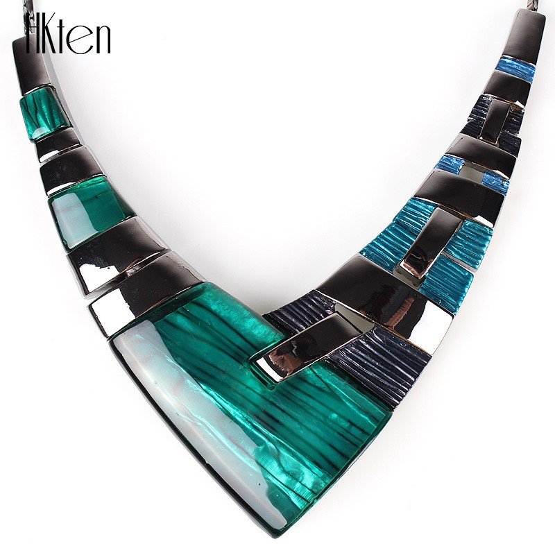 MS20101 Модный Ювелирный Набор, бронзовое покрытие, яркие цвета, высокое качество, женское ожерелье, серьги, набор, свадебные ювелирные изделия