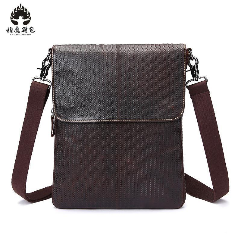 2018 New Brand Men Messenger Bags Big Promotion Genuine Leather Shoulder Bags Men Handbags Brand Casual Briefcase