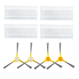 Image 2 - Side Brush Hepa Filter Mop Cloths Roller Brush for Neatsvor X500 Robot Vacuum Cleaner Accessories Roller Brush for Neatsvor X5