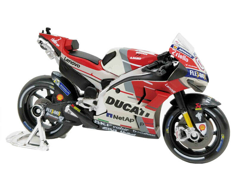 Maisto 1:18 2018 Ducati Desmosedici #04 Andrea Dovizioso MOTORCYCLE BIKE DIECAST MODEL TOY NEW IN BOX