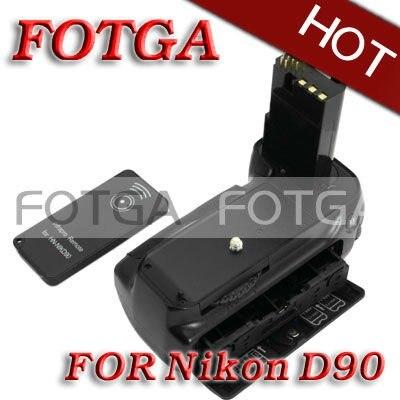 Prise de batterie verticale pour minuterie LCD pour Nikon D80 D90 MB-D80