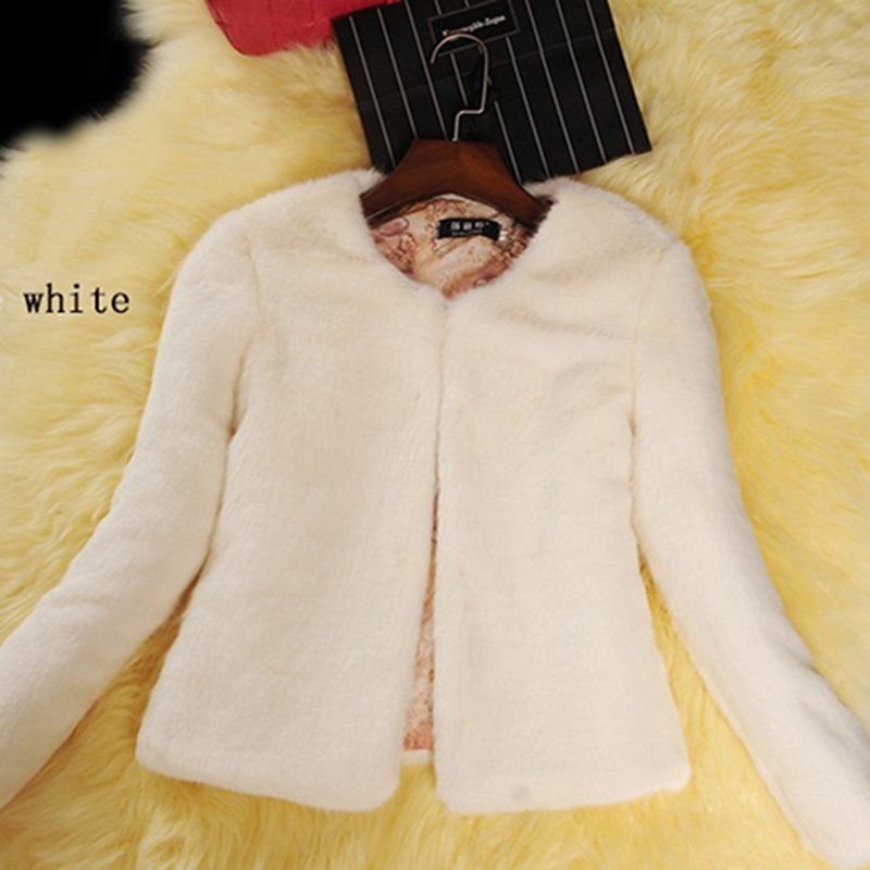 2018 fashion winter 8 color faux natural fur short design rex rabbit hair sheepskin cashmere slim women coat outerwear jacket