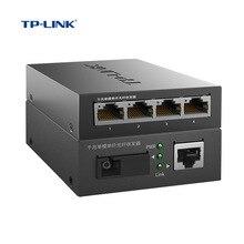TP-Link TL-FC311A-3+ TL-FC314B-3 одиночный SC гигабитный волоконный приемопередатчик SC 1,25 Гбит/с медиаконвертер 3 км