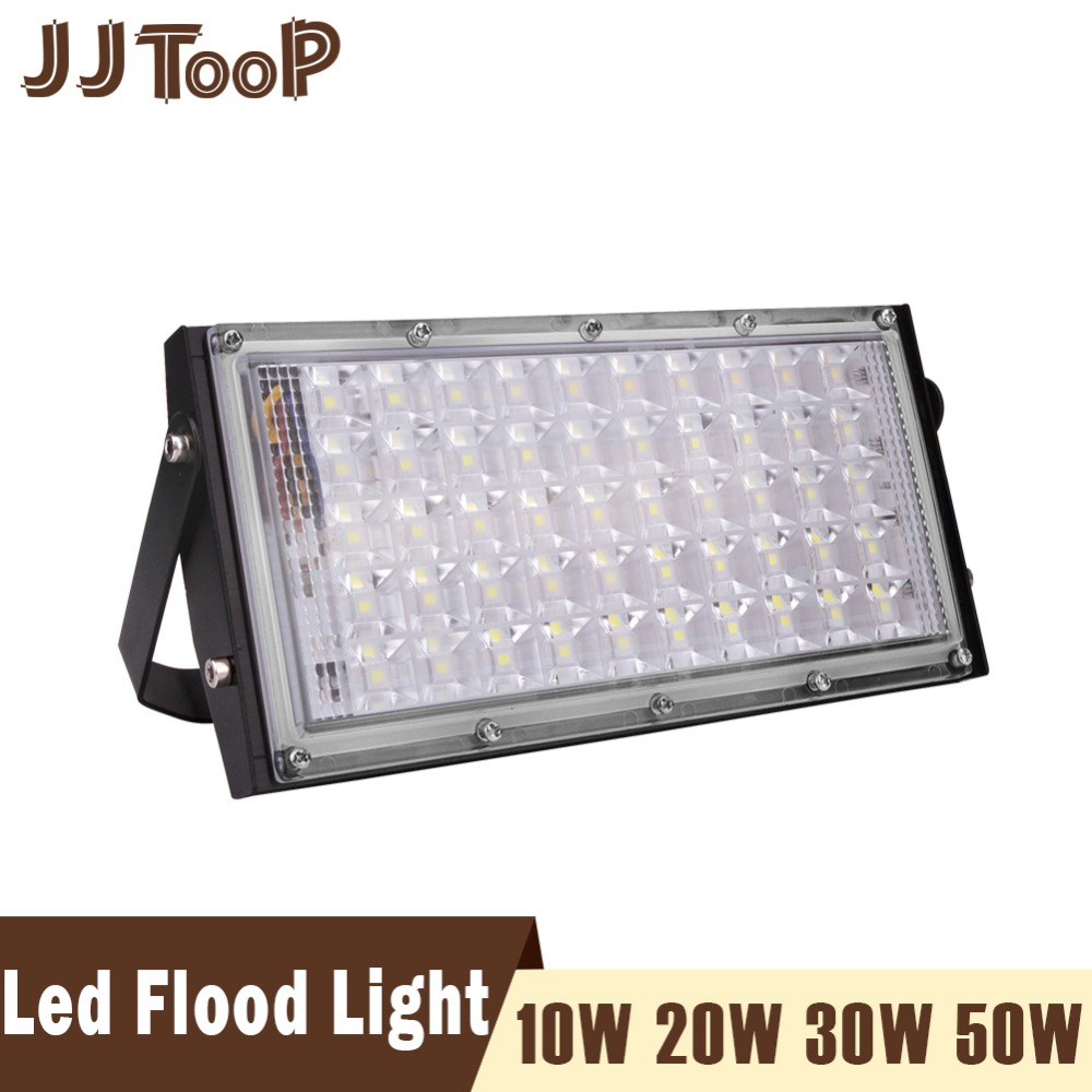 Car Lights Automobiles & Motorcycles Intelligent Outdoor Flood Light Ac 220v Spotlight Led Spotlight Reflector Downlight 50w Led Floodlight Ip65 Waterproof