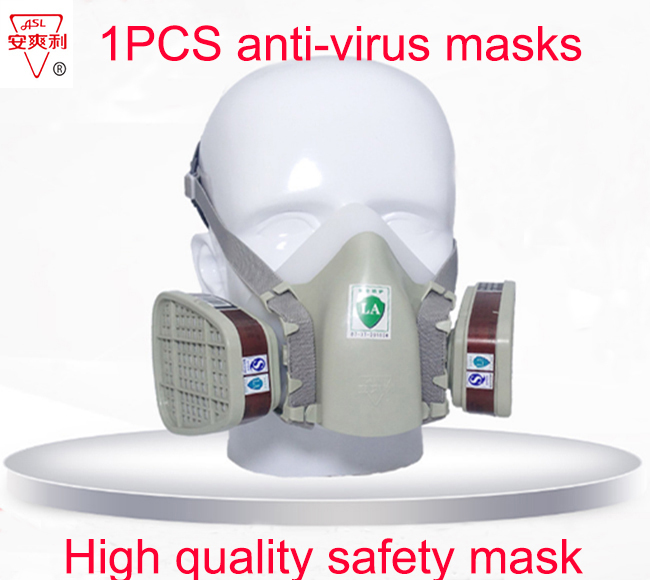 ASL-320 Standard models respirator gas mask high quality Silica gel respirator mask against against pesticide Graffiti gas mask asl h 320 respirator gas mask high quality silica gel large size protective mask against spray paint chemical pollution gas mask