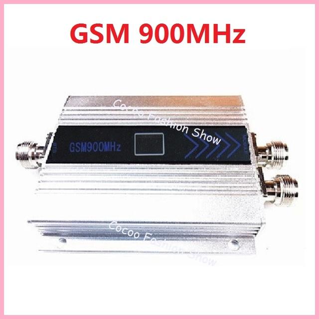 Pantalla LCD 2G GSM 900 Mhz 900 MHz GSM teléfono Celular Repetidor Amplificador de Señal Móvil de Refuerzo Repetidor Amplificador Repetidor