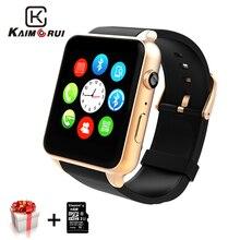 Купить с кэшбэком Kaimorui Smart Watch Heart Rate Tracker Bluetooth Smartwatch Support SIM TF Card Smart Watch Men for Android IOS Watch Phone