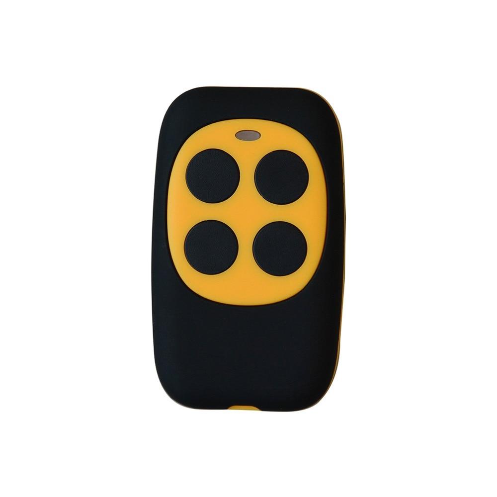 2pcs CAME NICE FLO1 FLO2 FLO 4 New Fixed Code 433.92MHz Garage Hand Remote Control Duplicator 2pcs rib sun t433 2ch 4ch 4 button garage door hand remote key copy duplicator fixed code