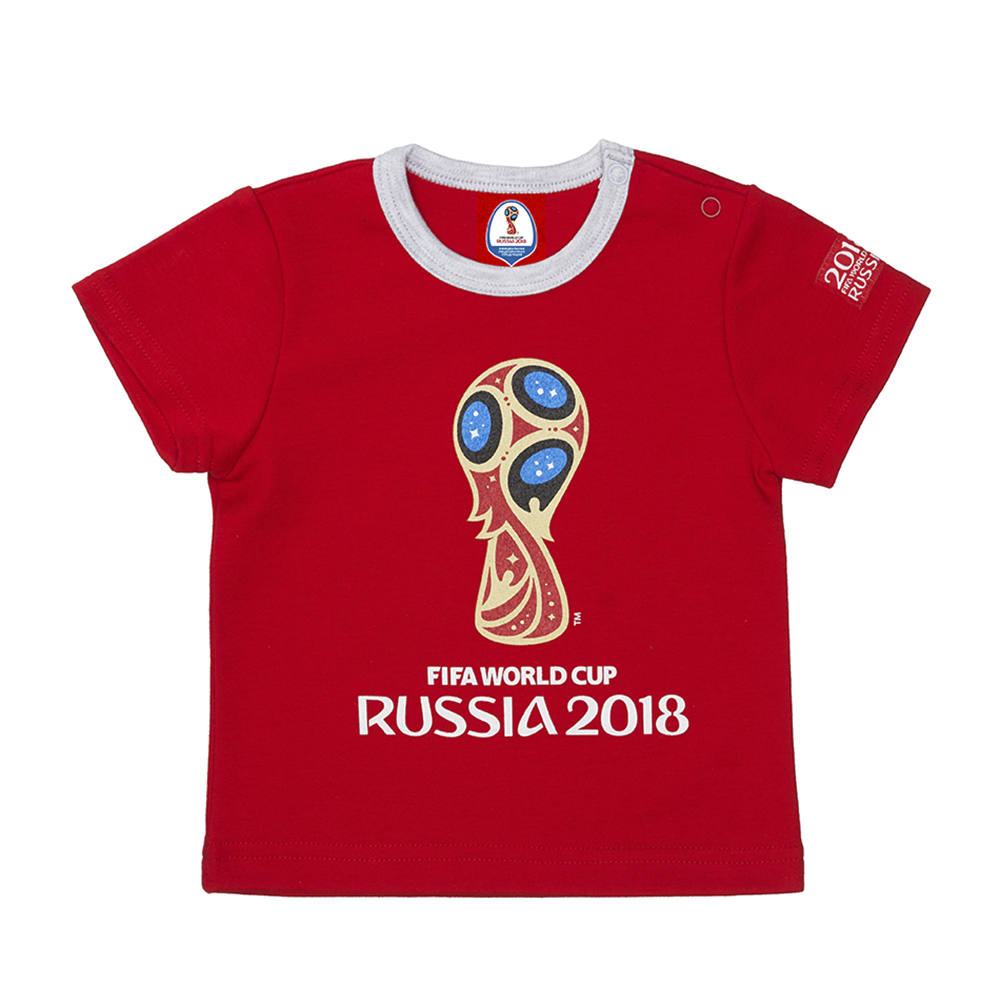 T Shirts FIFA WORLD CUP RUSSIA 2018 for boys F1-26 Top Baby T Shirt Kids Tops Children clothes 2017spring hot sale handsome boys gentleman suit children s formal clothing set kids wedding party clothes vest shirt pant 3pcs