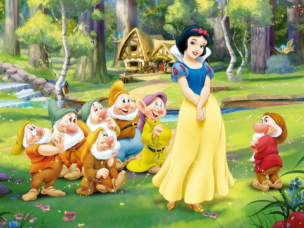 snow white and the seven dwarfs - HD1680×1050