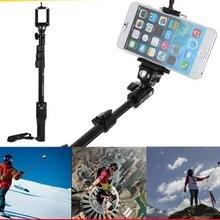 Selfie придерживайтесь штатив bluetooth selfie пало универсальный selfie стик для мобильного телефона и камеры для iphone 5s/samsung