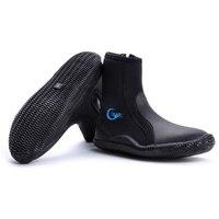 5MM Neoprene Diving Boots High Upper Scuba Anti Slip Skid Keep Warm Shoes Winter Fishing Swim