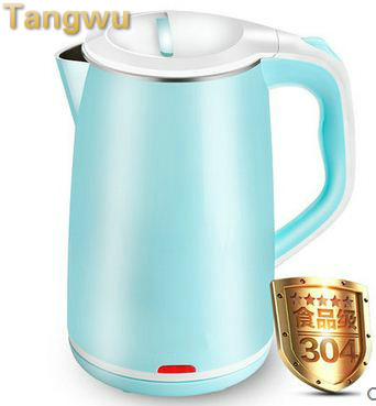 цены  Free shipping Electric kettle stainless steel automatically disconnect water boiler electric