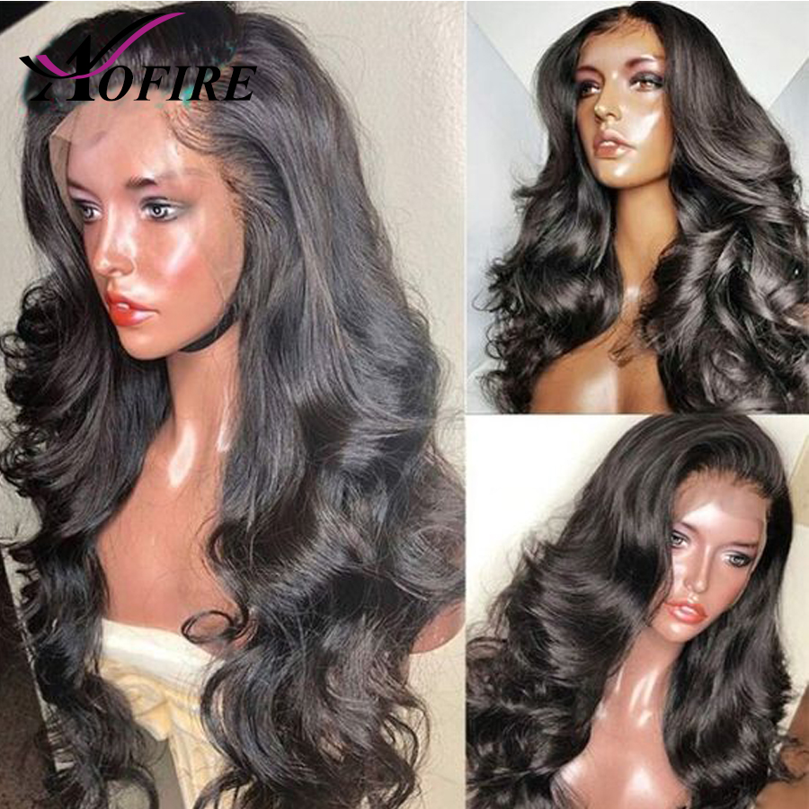 130%/150% gęstość Silk baza peruki Pre oskubane z dzieckiem włosy brazylijski Remy włosy ciało fala 13x4 koronki przodu włosów ludzkich peruk Aofire w Peruki z ludzkich włosów na siatce od Przedłużanie włosów i peruki na AliExpress - 11.11_Double 11Singles' Day 1