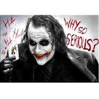Custom Photo 5D DIY Diamond Embroidery Batman Film Movie Joker Full Diamond Painting Cross Stitch Rhinestone