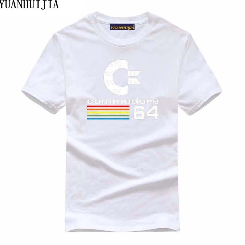 Летние Commodore 64 Футболки C64 SID Amiga Ретро 8-бит ultra cool Дизайн винил футболка мужская Костюмы с короткий рукав футболки