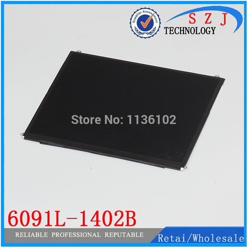 Original 9.7'' inch LCD Display for tablet pc 6091L-1402B LCD screen Free Shipping free shipping original 9 inch lcd screen cable numbers kr090lb3s 1030300647 40pin