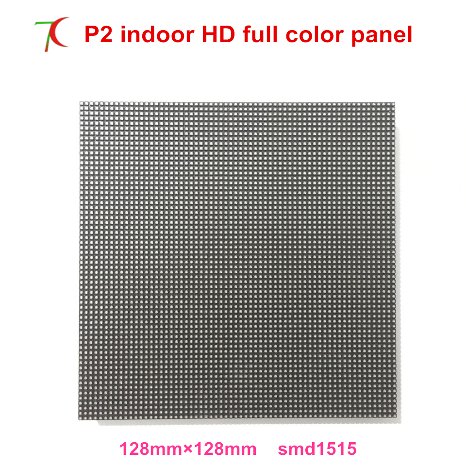 Normal Brightness P2 Indoor 32scan Full Color Led Board ,128*128mm,2000cd