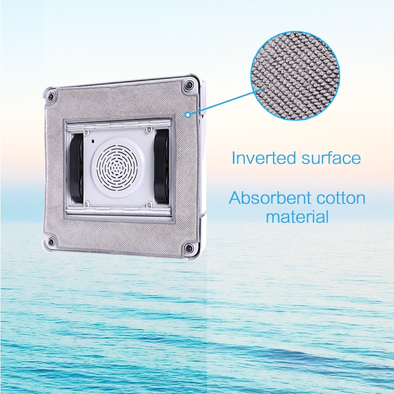 2pcs Mop Cloths for Robot Window Cleaner WS 860
