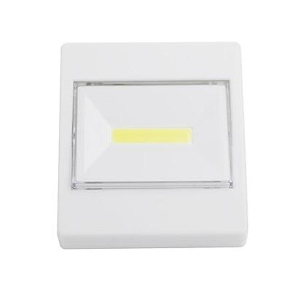 Ultra Bright  Mini LED Night Lights Camp COB Lamp 3*aaa Battery Operated  Switch Wall Light Free Shipping