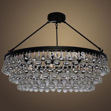Free Shipping Modern Vintage Crystal Chandelier Lighting Ceiling Mounted Chandeliers Pendant Hanging Light for Home Decoration