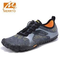 MERRTO Herren Trekking Schuhe Wandern Schuhe Berg Wanderschuhe Für Männer Fünf Zehen Sportschuhe Atmungsaktive Klettern Schuhe Mann