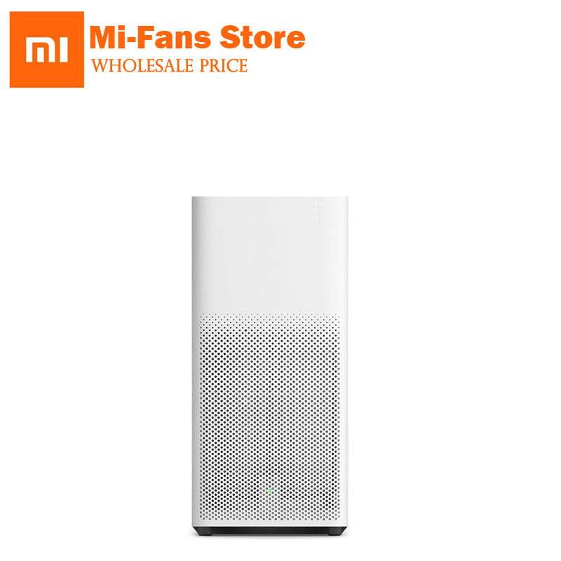 Xiaomi Air Purifier 2 Sterilizer In addition to Cleaning MI Air Cleaner Smartphone Remote Control Household for Office Home pair of trendy rhinestone oval leaf earrings for women
