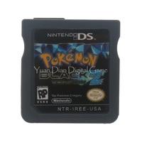 Nintendo NDS Video Game Cartridge Console Card Pokemon Series Black 2 USA English Language Version