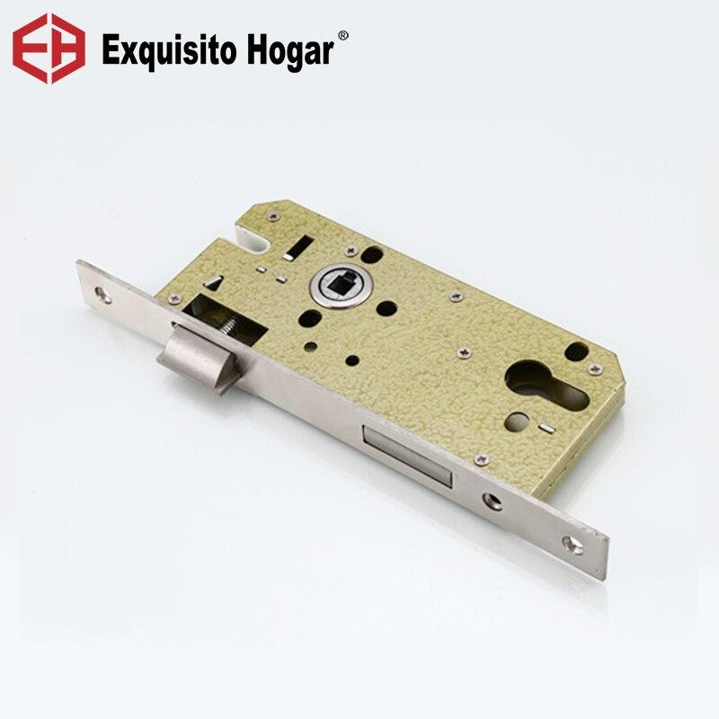 85*50 Lock Hardware Door Split Lock Body, Wooden Door Lock Body Metal Stainless Steel