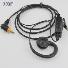 MIC Speaker PTT G Earhook Earpiece Earphone Headset for Motorola Radio SL7550 SL4000 SL1K MotoTRBO Radio Walkie Talkie