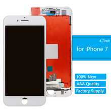 цена на for iPhone 7 Touch Screen Original Quality LCD Display Digitizer Assembly for iPhone 7 Repair Replacement Screen With Frame