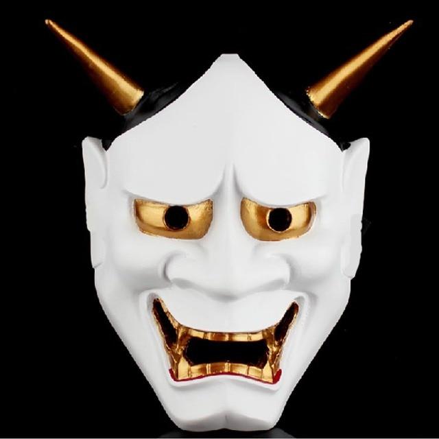 buddha prajna masks halloween devil full face scary horror masks new 2017 masquerade party cs wargame - Creepy Masks For Halloween