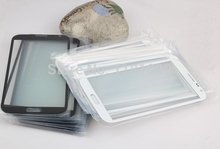 10pcs/lot Outer Glass Lens For Samsung Galaxy Note II N7100 High quality Brand New Free Shipping White/Black With Logo