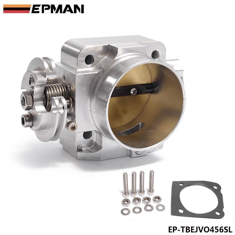 Aluminum 70mm Throttle Body For Mitsubishi Lancer: EPMAN Aluminum Intake Manifold 70mm Throttle Body