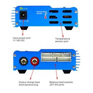 Image 5 - HTRC IMAX B6 מאזן מטען פורק עבור RC מסוק מחדש שיא NIMH/NICD LCD חכם סוללה מטען + 15V 6A מתאם